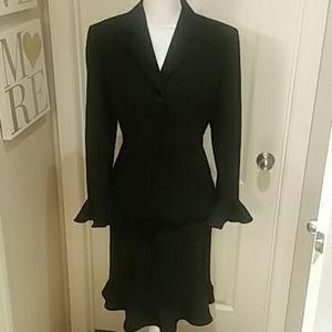 As New Black Jasper Suit Sz 12P